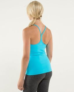 Lululemon Y tank in blue