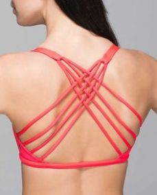 Lululemon Wilde to be free Bra
