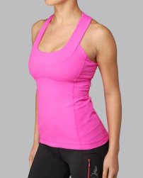 Lululemon Scoop Tank in pink