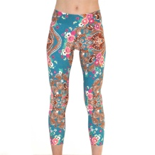 Liquido Active Soul Sister leggings by Tiffany Cruishiank